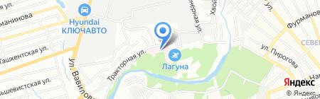Экомед на карте Ростова-на-Дону