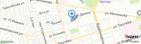 Банкомат Юго-Западный банк Сбербанка России на карте Ростова-на-Дону