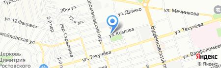 Верное решение на карте Ростова-на-Дону