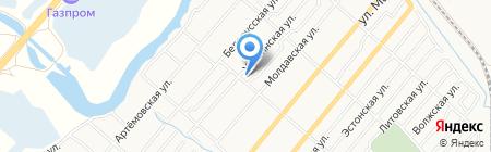 Ростов-Фарм на карте Батайска
