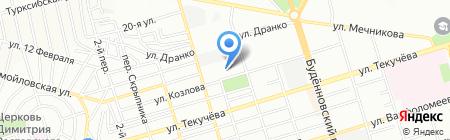 НовоТехАвто на карте Ростова-на-Дону