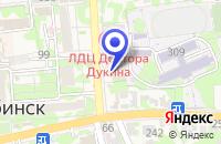 Схема проезда до компании ТФ ПРИСМА в Усть-Лабинске