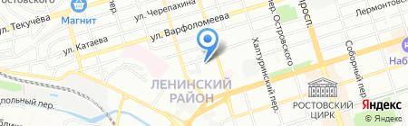 Детский сад №123 Феникс на карте Ростова-на-Дону