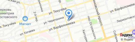 Beer & Jazz на карте Ростова-на-Дону