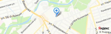 Детский сад №58 на карте Ростова-на-Дону