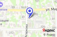 Схема проезда до компании ШЕВЦОВА Н.А. НОТАРИУС в Усть-Лабинске