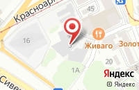 Схема проезда до компании ЛингвоХаус в Астрахани