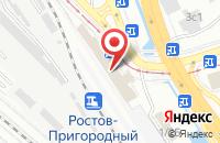 Схема проезда до компании Гидропроммаш в Ростове-На-Дону