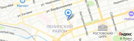 ИмпериалТрейдИнвест на карте Ростова-на-Дону