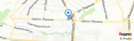 Нина на карте Ростова-на-Дону