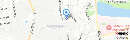 Гаспарян на карте Ростова-на-Дону