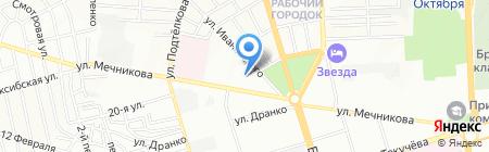 Фараон на карте Ростова-на-Дону