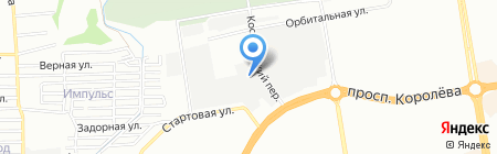Лига на карте Ростова-на-Дону
