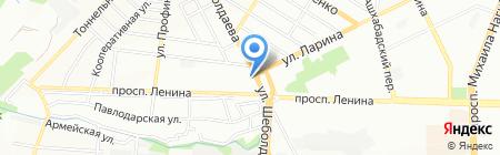 Алладин на карте Ростова-на-Дону