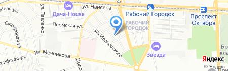 Средняя общеобразовательная школа №32 на карте Ростова-на-Дону