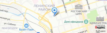 РосВентКлимат на карте Ростова-на-Дону