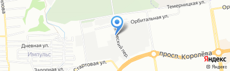 ИнтегроСталь на карте Ростова-на-Дону