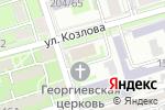 Схема проезда до компании Церковная лавка в Ростове-на-Дону