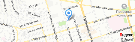 Церковная лавка на карте Ростова-на-Дону