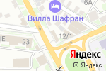 Схема проезда до компании Дэрикс в Ростове-на-Дону
