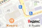 Схема проезда до компании Неон в Ростове-на-Дону