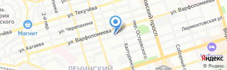 Ако-Фарм на карте Ростова-на-Дону