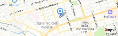 Datum Group на карте Ростова-на-Дону