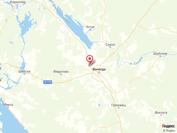 деревня Марфино на карте