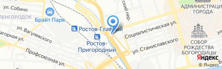 МЕЧТА на карте Ростова-на-Дону