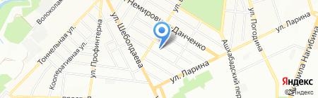 МНОГОПРОФИЛЬНЫЙ на карте Ростова-на-Дону