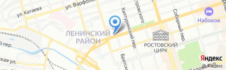 Средняя общеобразовательная школа №78 на карте Ростова-на-Дону