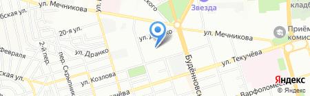 Надежда-2 на карте Ростова-на-Дону