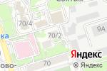 Схема проезда до компании КРАФТ в Ростове-на-Дону