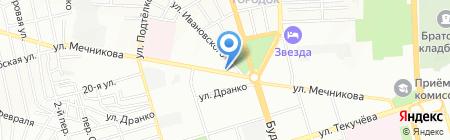 Партнер-Транс на карте Ростова-на-Дону