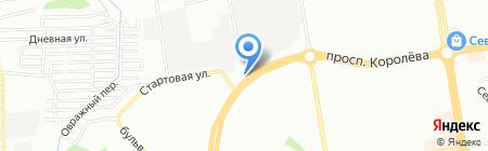 МЕЛС на карте Ростова-на-Дону