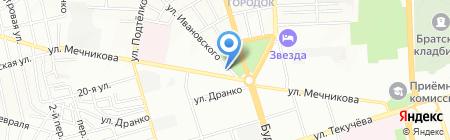 Спецремстрой на карте Ростова-на-Дону