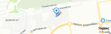 Электрод-Сервис на карте Ростова-на-Дону