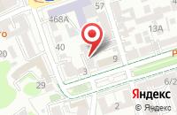 Схема проезда до компании Капитал Плюс в Ростове-На-Дону