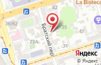 Схема проезда до компании Система-Плюс в Ростове-На-Дону