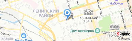 Ля Ажур на карте Ростова-на-Дону