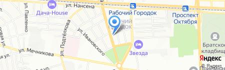 Почтовое отделение №12 на карте Ростова-на-Дону
