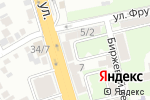 Схема проезда до компании Ростов-Аудит в Ростове-на-Дону