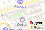 Схема проезда до компании Мартинес Имидж в Ростове-на-Дону
