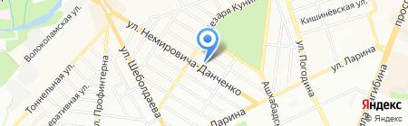 Центр автосервиса на карте Ростова-на-Дону