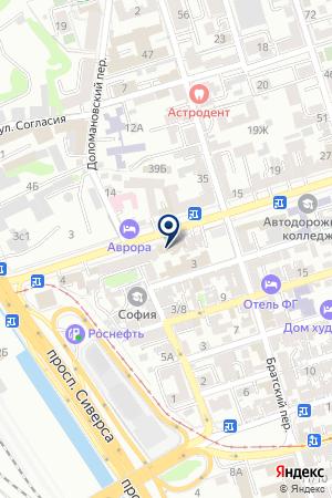 ШАХТИНСИЙ ДВОРЕЦ КУЛЬТУРЫ на карте Шахт