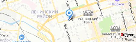 Вольт на карте Ростова-на-Дону