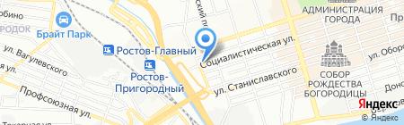 МЕГА-ГРУПП на карте Ростова-на-Дону
