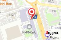 Схема проезда до компании Олимпик в Ростове-На-Дону