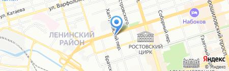 Антрекот на карте Ростова-на-Дону