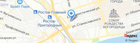 КОНЕ Лифтс на карте Ростова-на-Дону